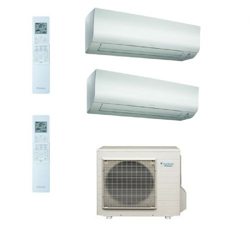 Daikin Air conditioning Multi 4MXS80E Heat Pump Inverter 2 x FTXS50K (5Kw/17000Btu) Wall Mounted A+ 240V~50Hz